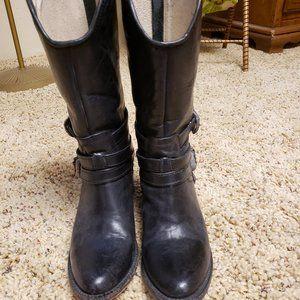 Freebird black buckle boots